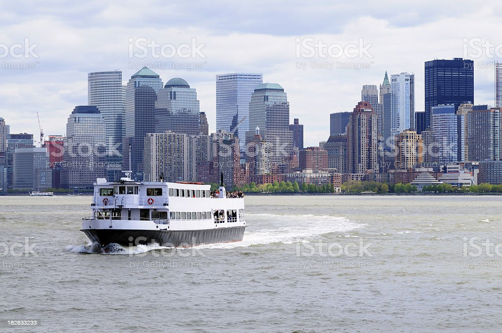 Ferry de Lower Manhattan, New York - Photo