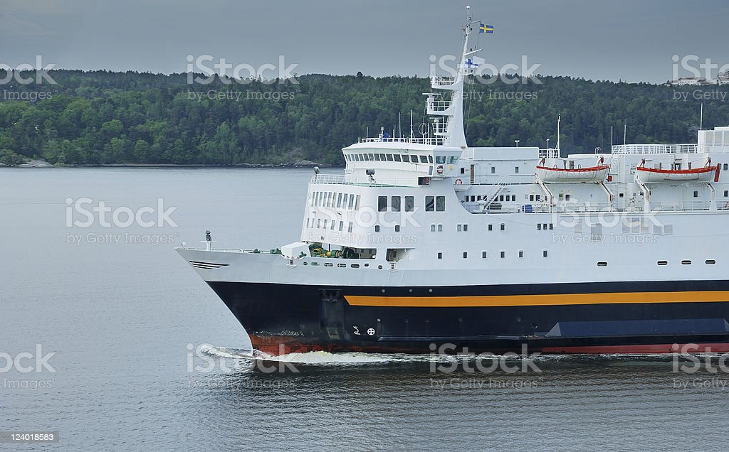 Ferry. royalty-free stock photo