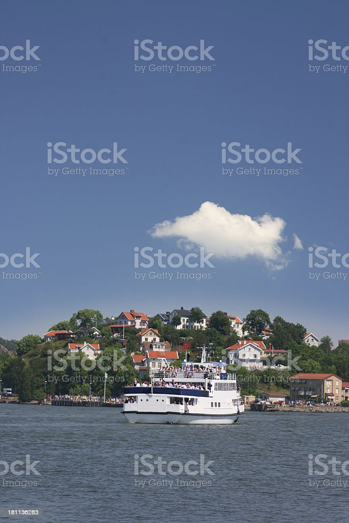 Ferry royalty-free stock photo