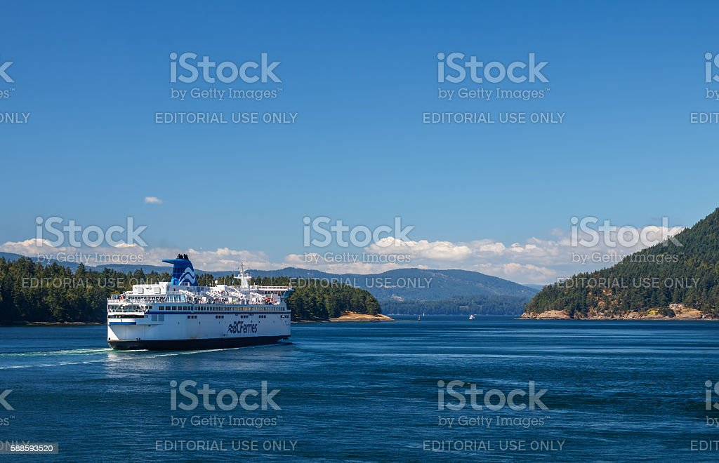 BC Ferry stock photo