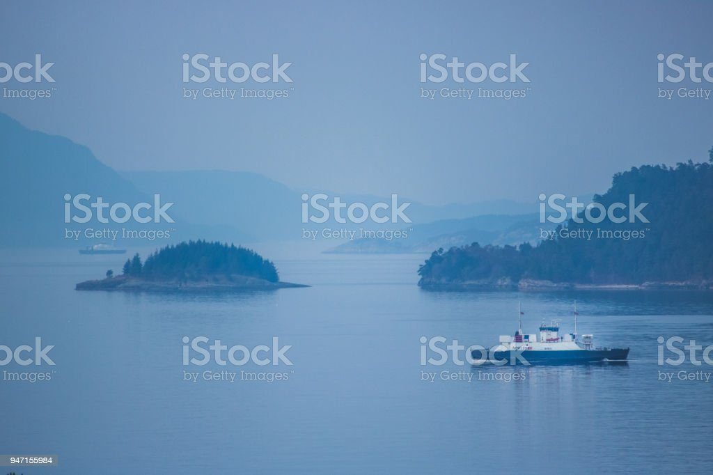 Ferry stock photo