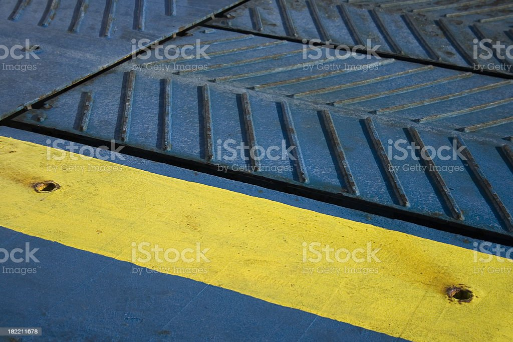 Ferry Ramp Detail Stock Photo & More Pictures of Abstract | iStock