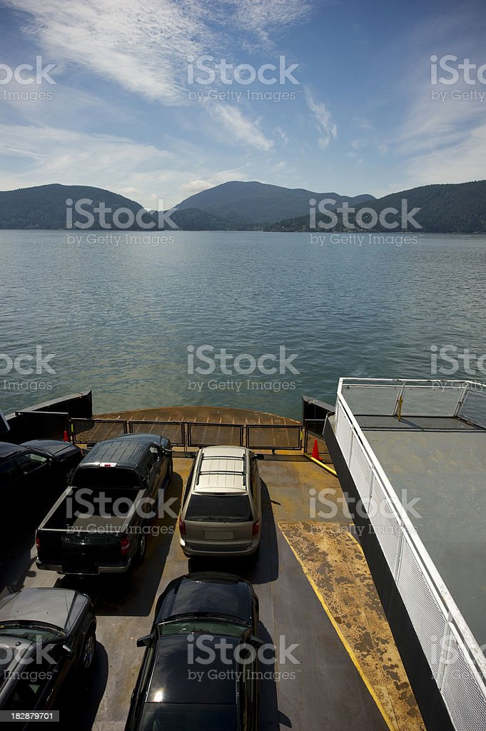 Ferry Ride royalty-free stock photo