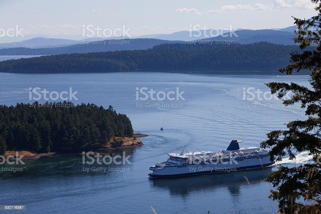 Ferry Ship stock photo