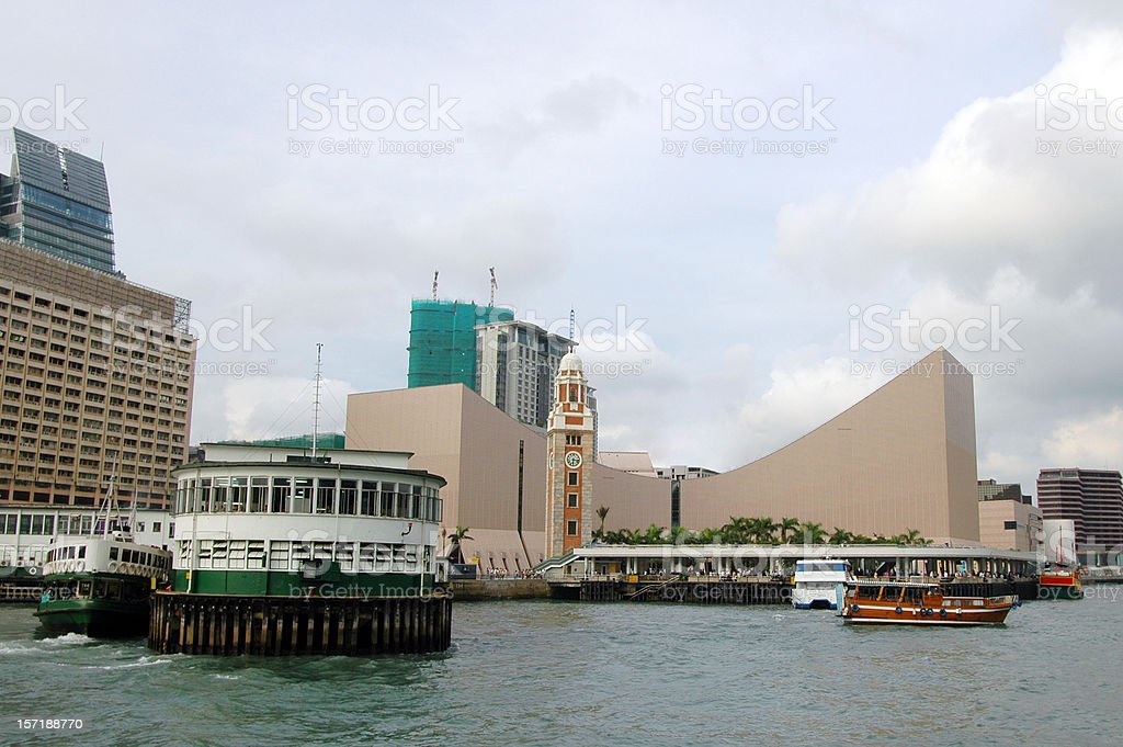 Ferry Terminal stock photo