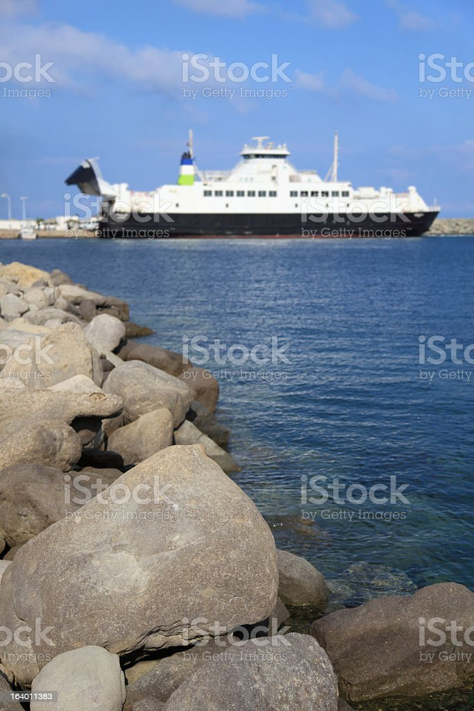 Ferry Travel royalty-free stock photo