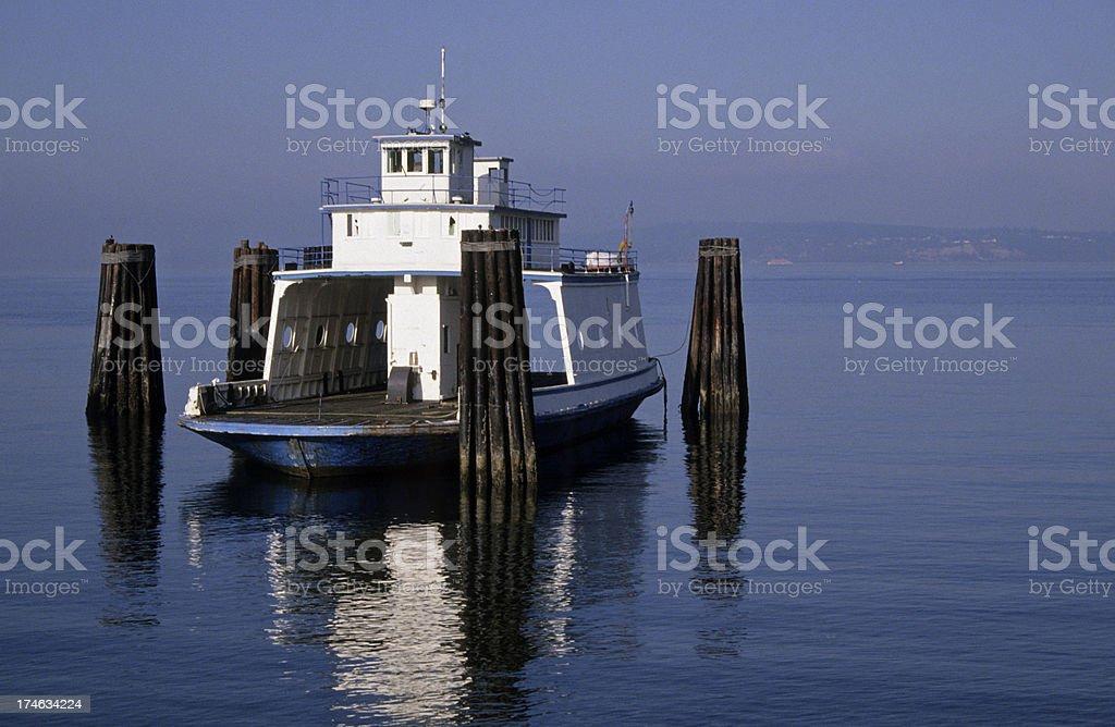 \'Ferryboat on Puget Sound in Steilacoom, Washington state\'