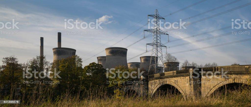 Ferrybridge stock photo