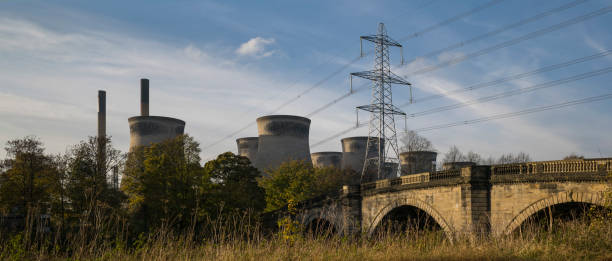 Ferrybridge stock photo