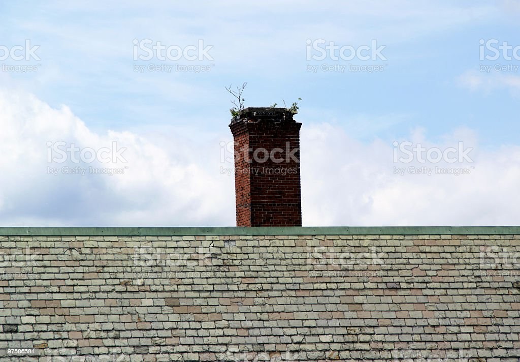Fertile Chimney royalty-free stock photo