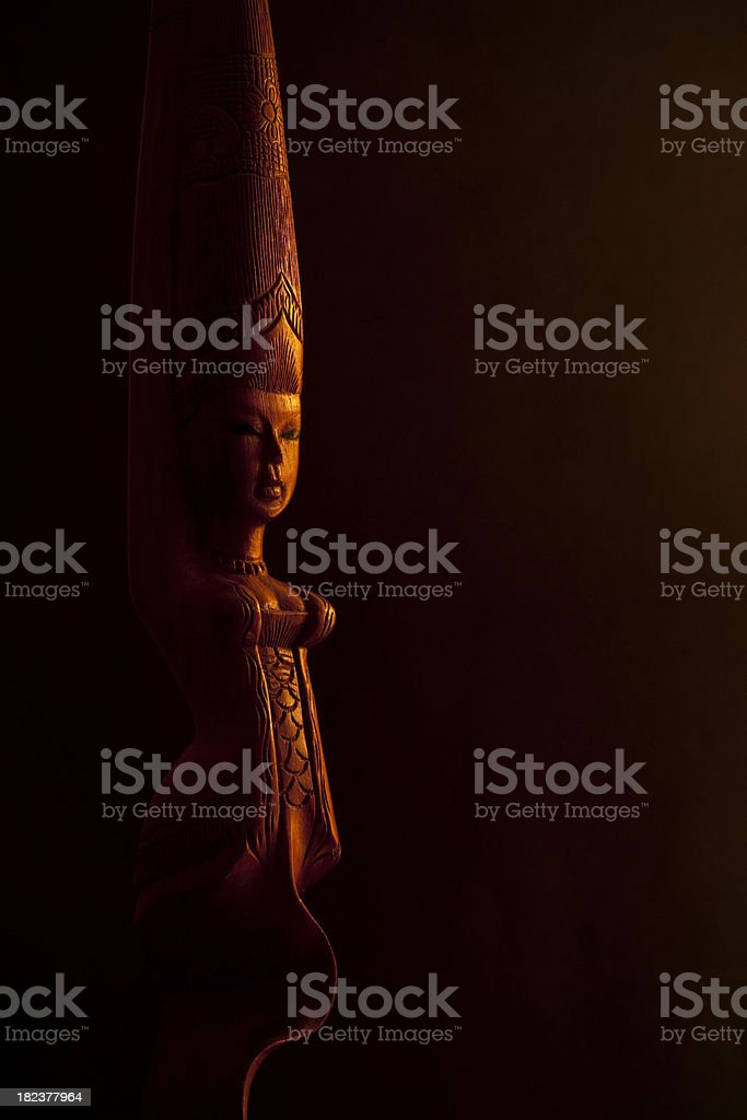 Fertility Symbol Statue royalty-free stock photo