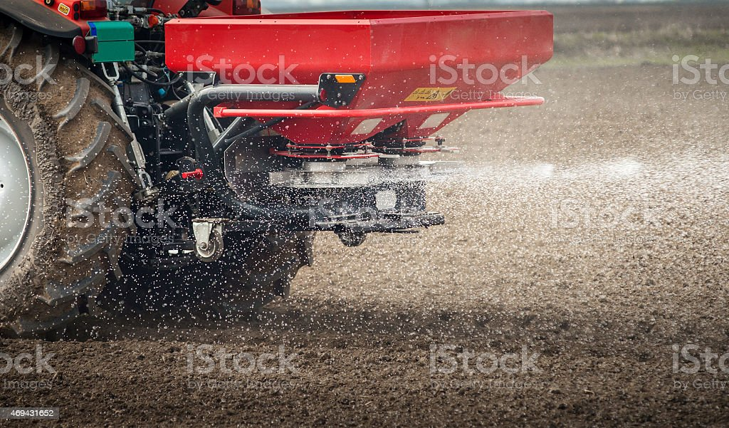 Fertilizer agriculture stock photo