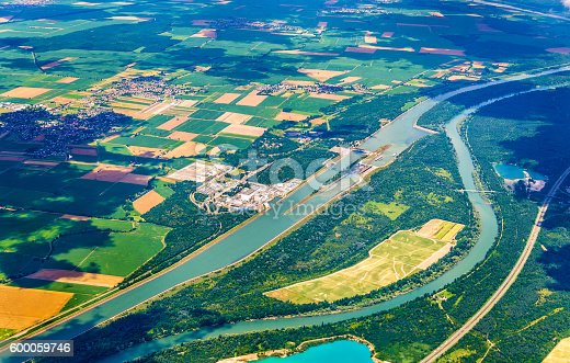 istock Fessenheim Nuclear and Hydroelectric Power Plants - Alsace, France 600059746