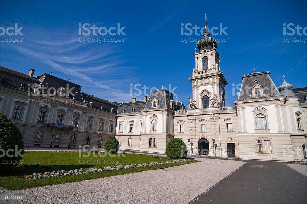 Festetic Palace Balaton-Keszthely stock photo