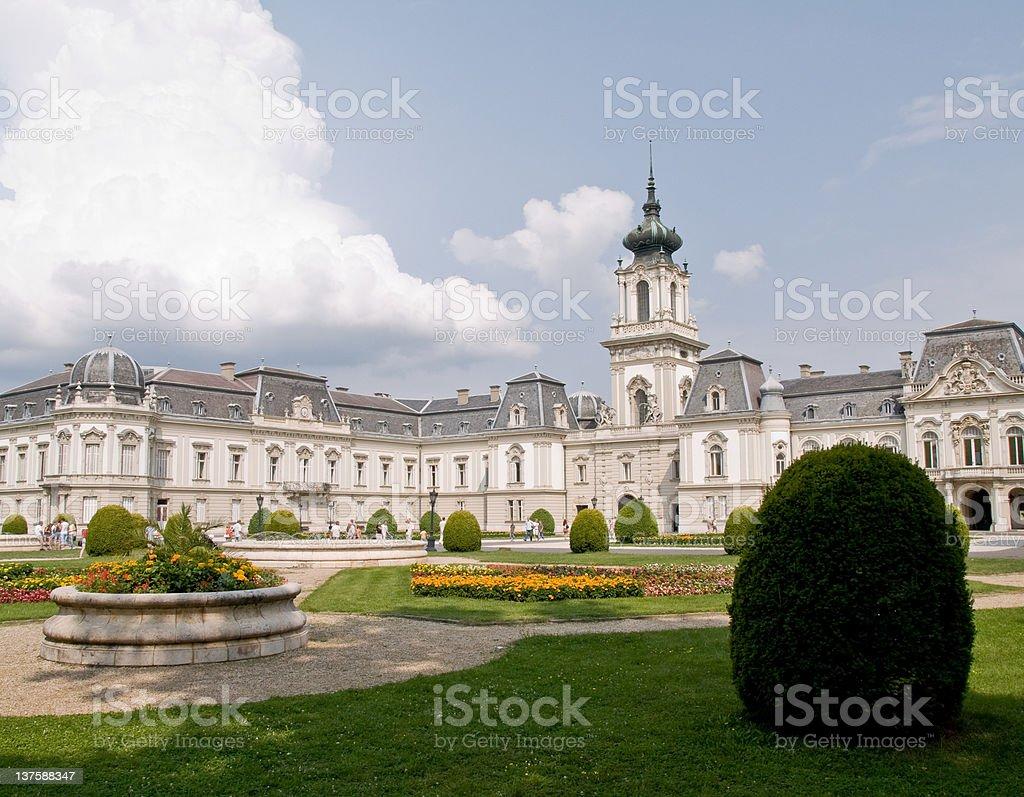 Festetic Palace (Keszthely) stock photo