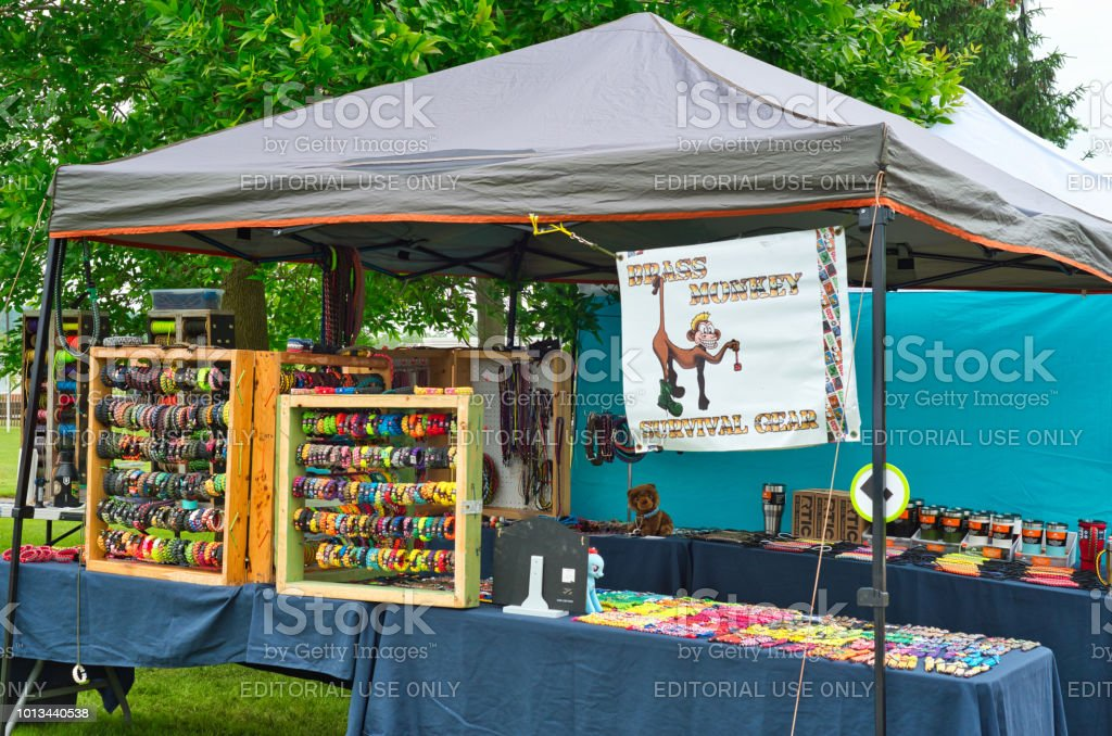 Festival Booth Display Stock Photo - Download Image Now - iStock