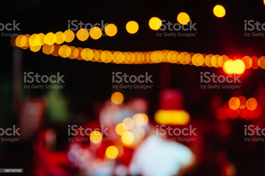 Festival Event Party Blurred Background stock photo