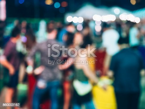 860440036 istock photo Festival Event Party with People Blurred Background 860003162