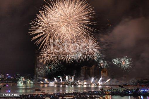 istock Festival fireworks on the River Han-Da Nang 473965154