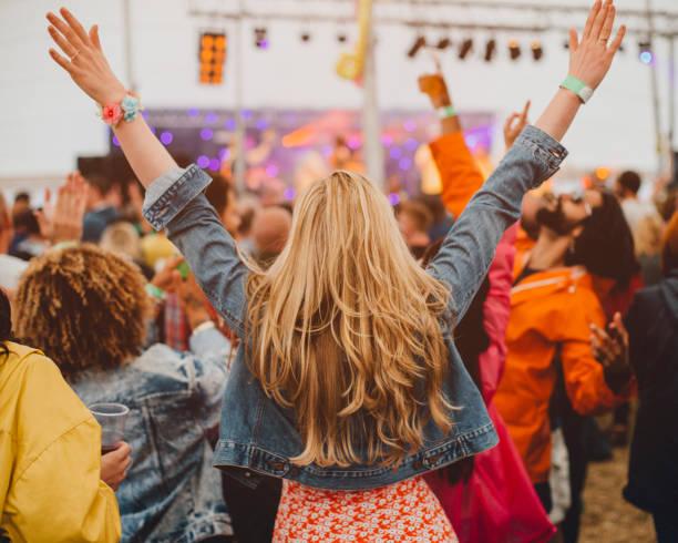 Festival Freedom stock photo