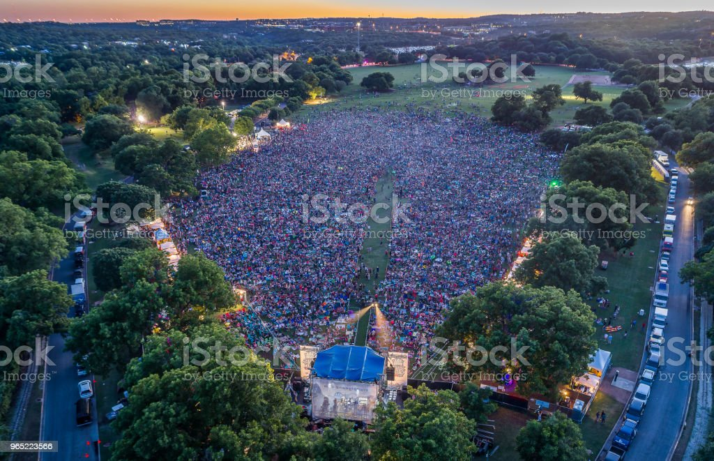 Festival in Austin, Texas royalty-free stock photo