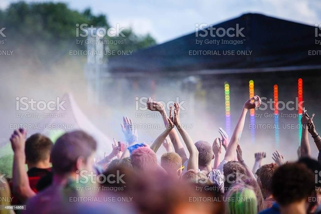 Święto kolorów zbiór zdjęć royalty-free