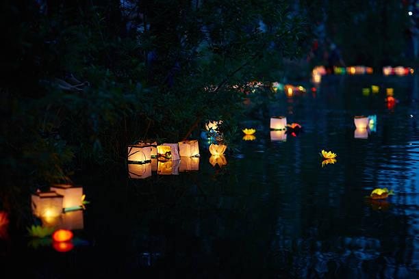 festival de luzes - lanterna - fotografias e filmes do acervo