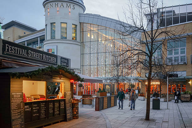 Festival place shopping centre in Basingstoke stock photo
