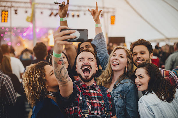 Festival Selfie - Photo