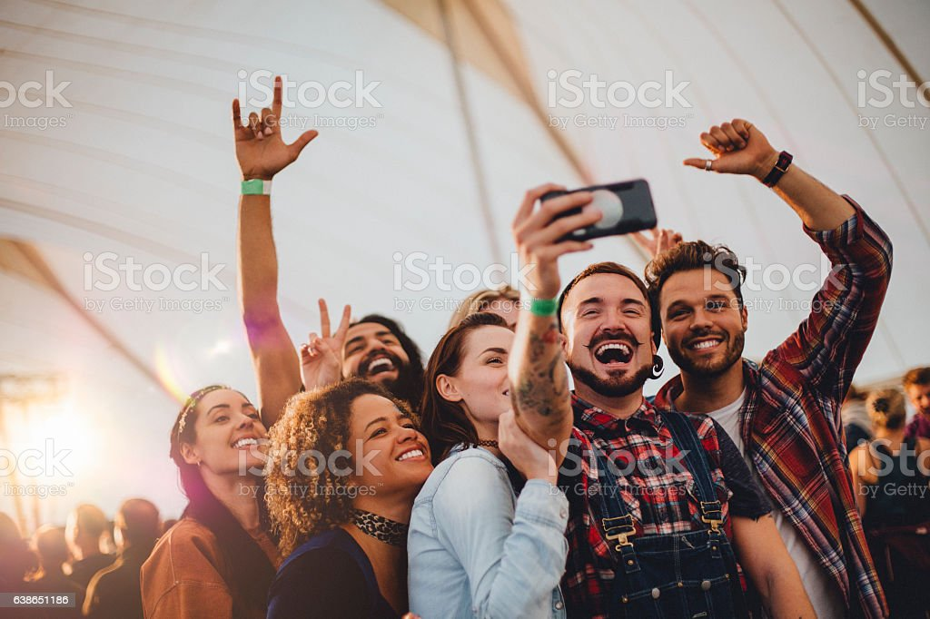 Festival Selfie - Photo