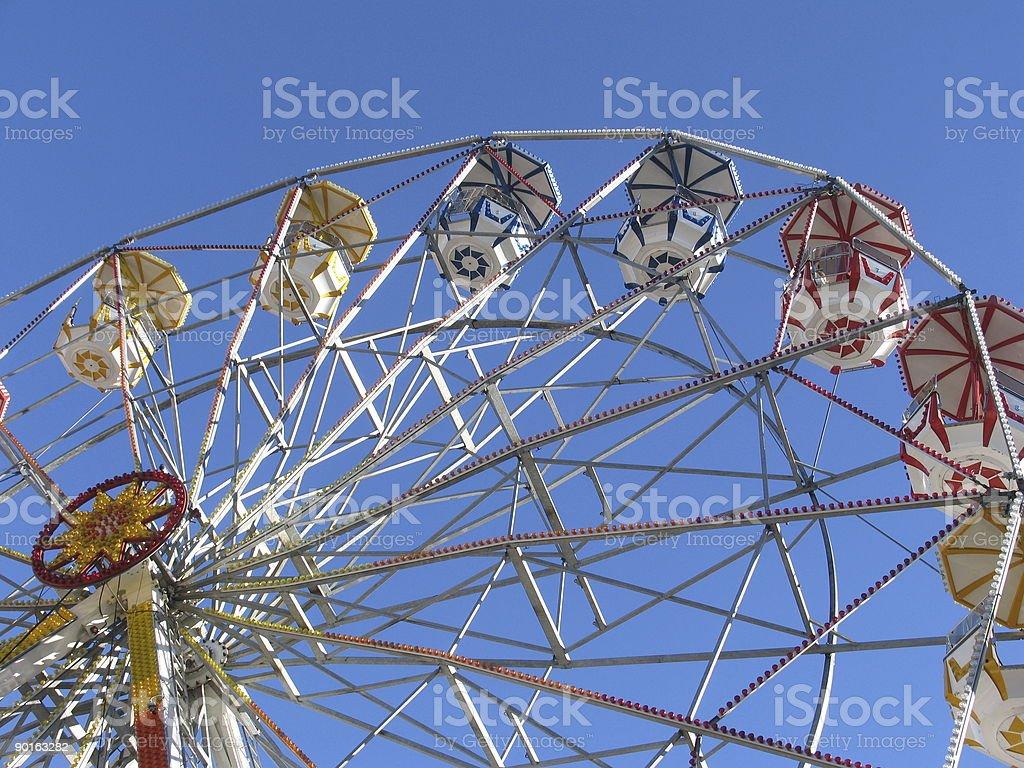 Festival wheel royalty-free stock photo