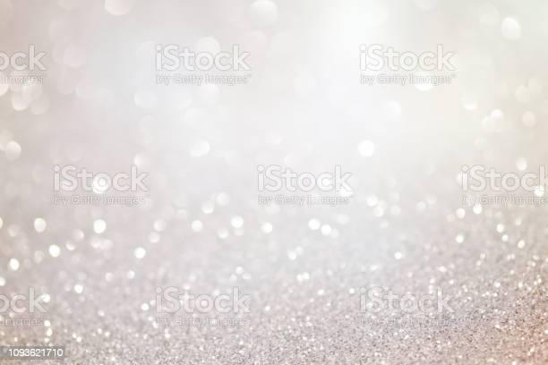Photo of festive bokeh glowing background
