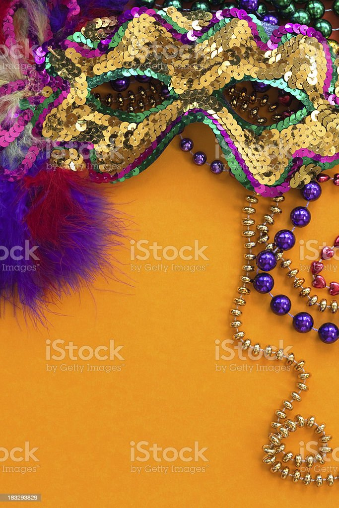 Festive Carnival Background royalty-free stock photo