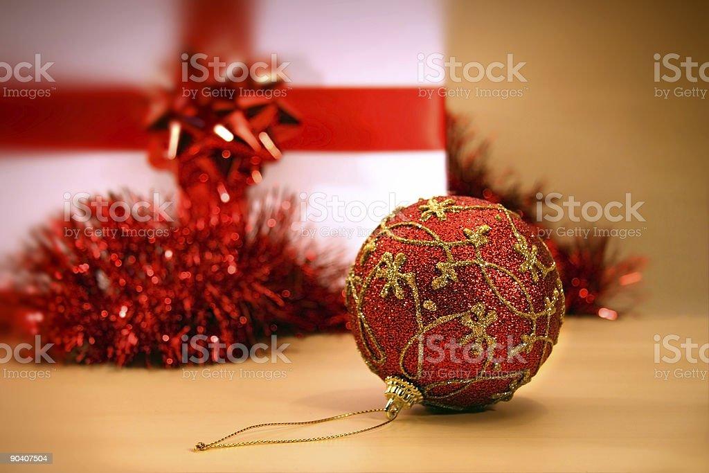 Festive decorations royalty-free stock photo