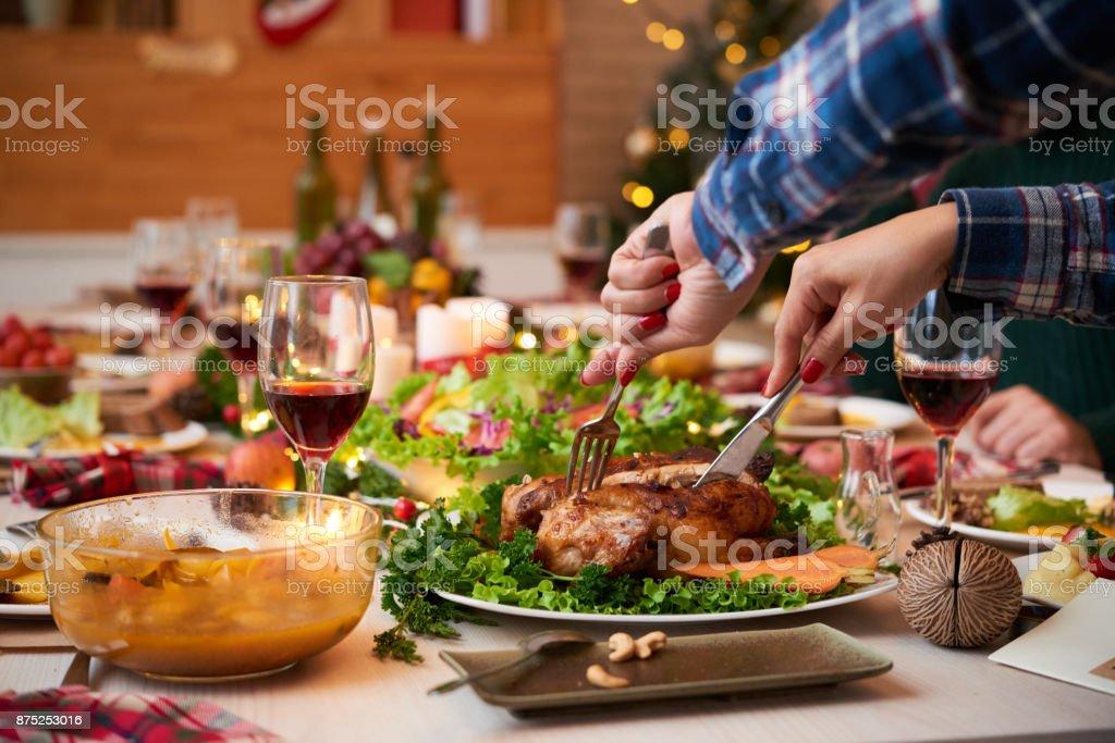 Festliches Abendessen – Foto