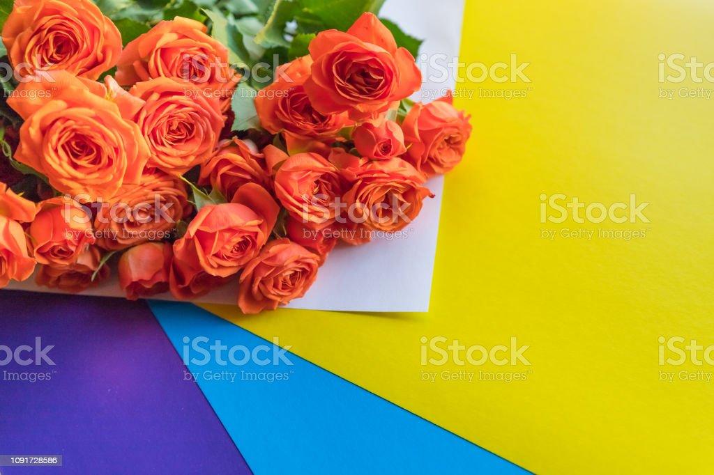 Photo Libre De Droit De Fleurs Fêtes Anglais Rose