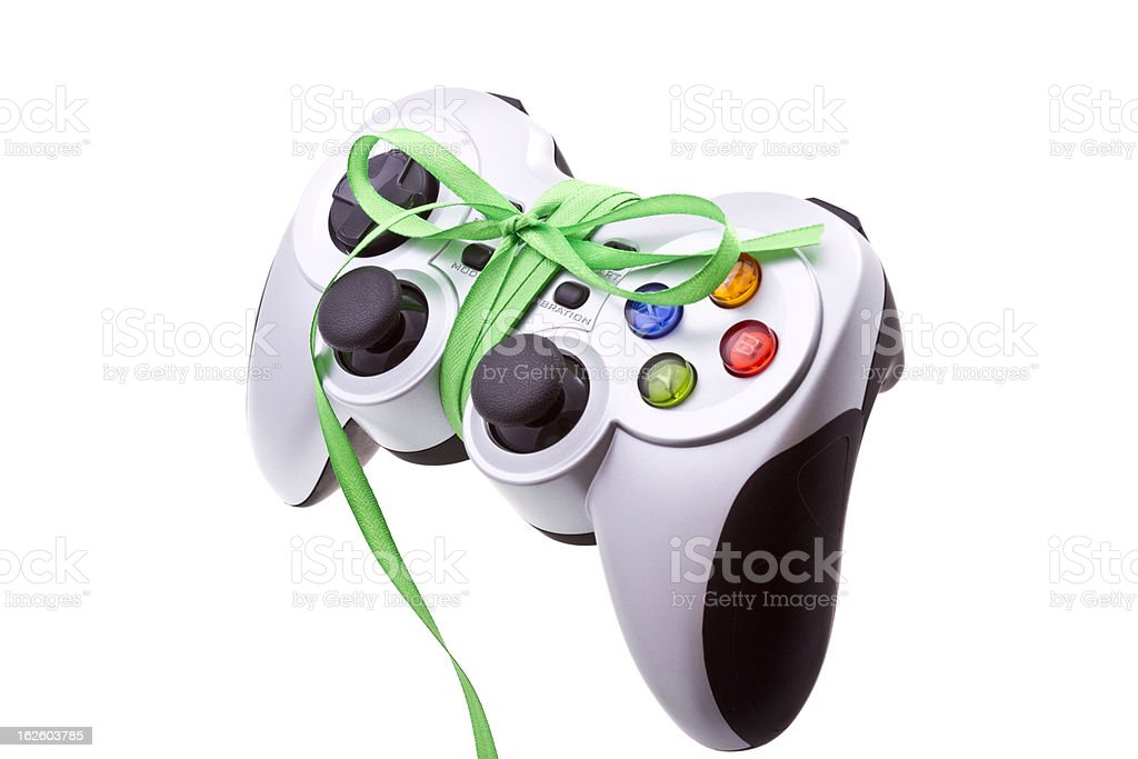 Festive gamepad royalty-free stock photo