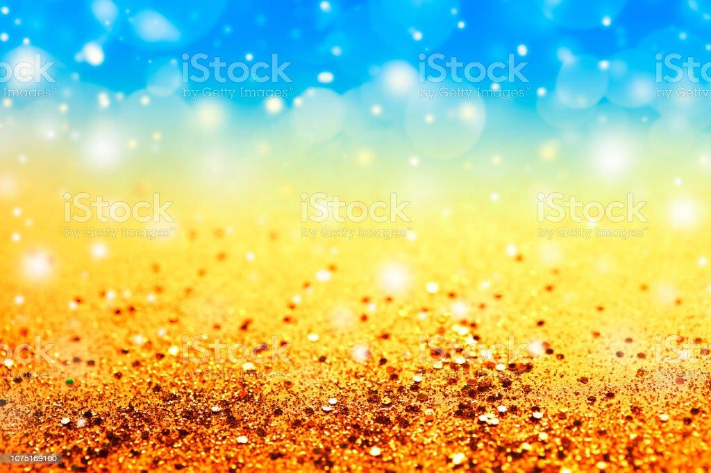 Festive Glitter Background stock photo