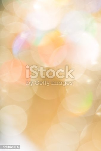 istock festive golden abstract background with bokeh, vertical 876564120