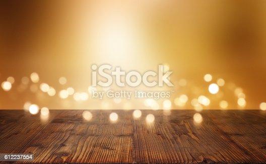 istock Festive illuminated background 612237554