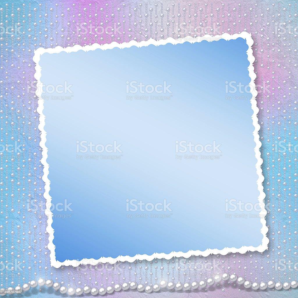 Festliche Einladung Oder Glückwunsch Für Eine Hochzeit Taufe