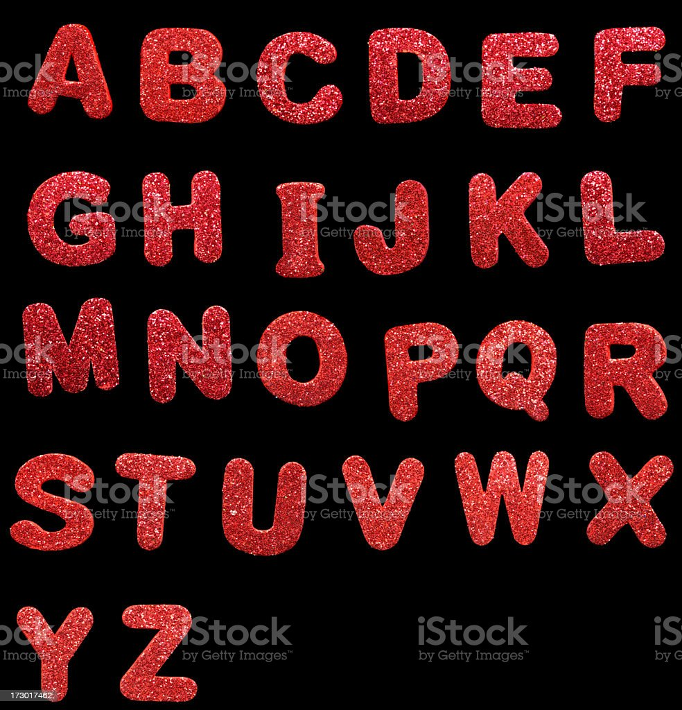 festive letters royalty-free stock photo