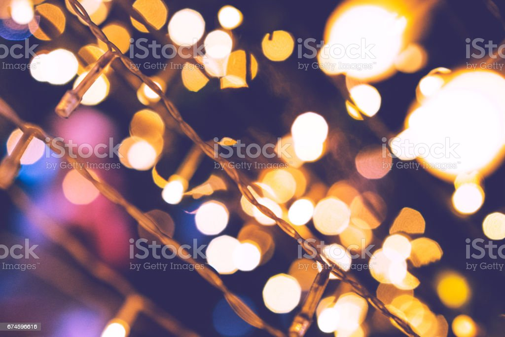 Festive Lighting Assortment stock photo