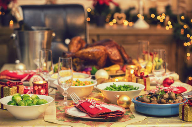 Festliche Randlage mit Weihnachtsdekorationen – Foto