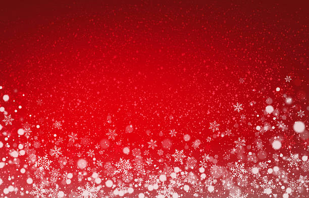 festive snowflakes background - snowflake stock photos and pictures
