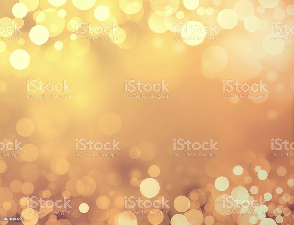 Festive sparkling lights stock photo