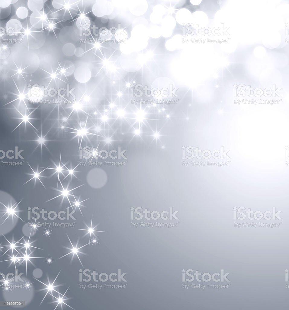 Festive sparkling lights stock photo