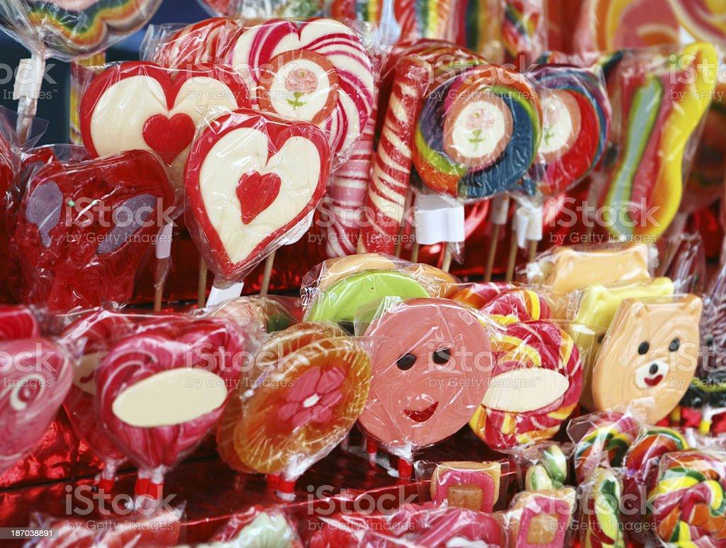 festive sugar candies royalty-free stock photo
