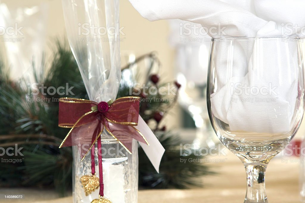 Festive table royalty-free stock photo