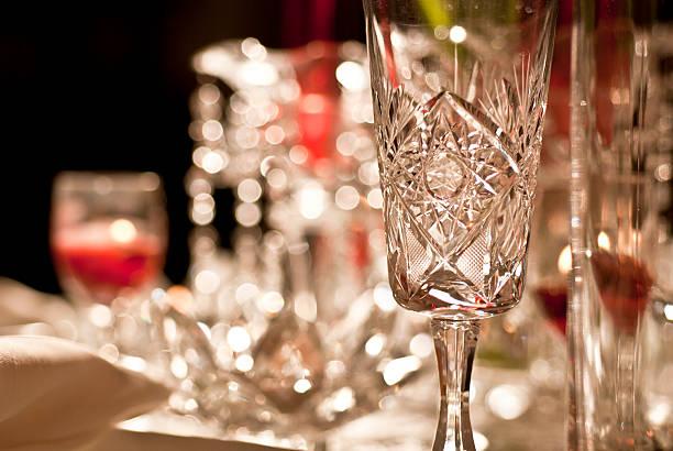 Festive Table Setting stock photo